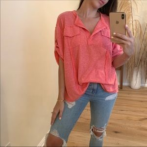 Coral Soft Top